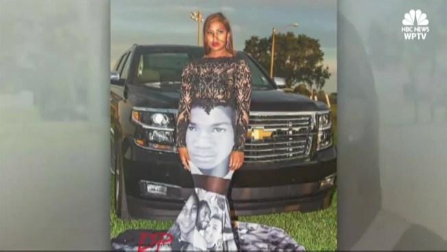 7170ec2b714 South Florida Teen Wears Black Lives Matter Prom Dress - NBC10 Boston