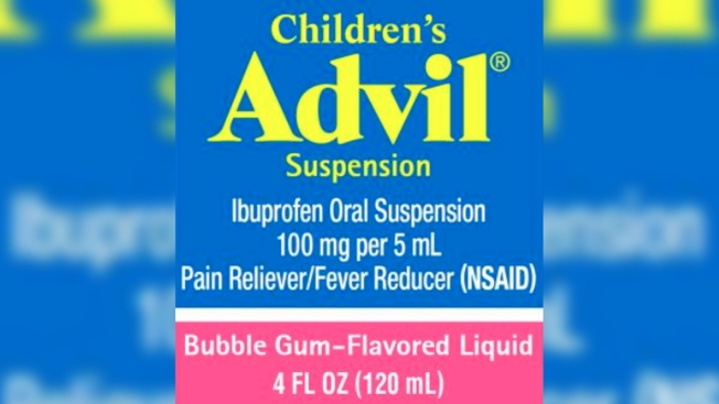 Children's Advil Recalled Over Labeling Mix-Up, Possibility of Overdose