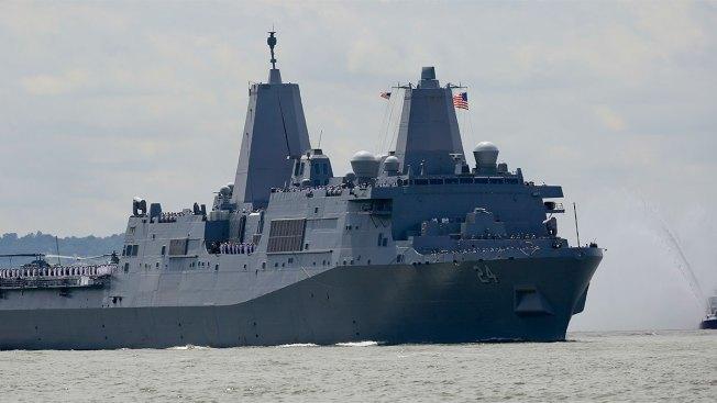 Hidden Camera Found in Women's Bathroom Aboard Navy Ship
