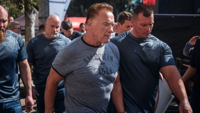 Arnold Schwarzenegger Dropkicked in the Back During Event in South Africa