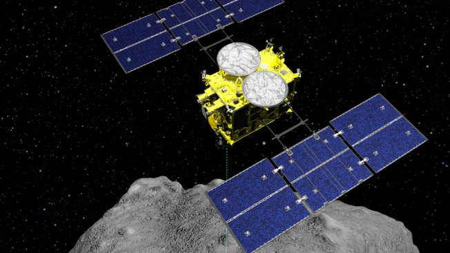 Japan Drops Explosive on Asteroid to Make Crater