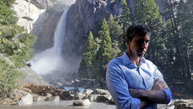 Beto O'Rourke Unveils Climate Plan With Yosemite as Backdrop