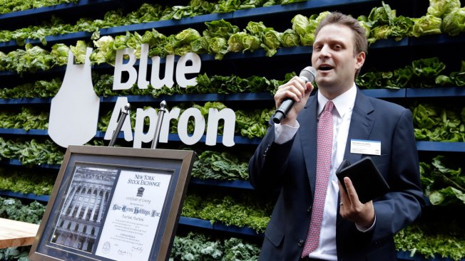 Blue Apron Delivers Flat First Day on Stock Market