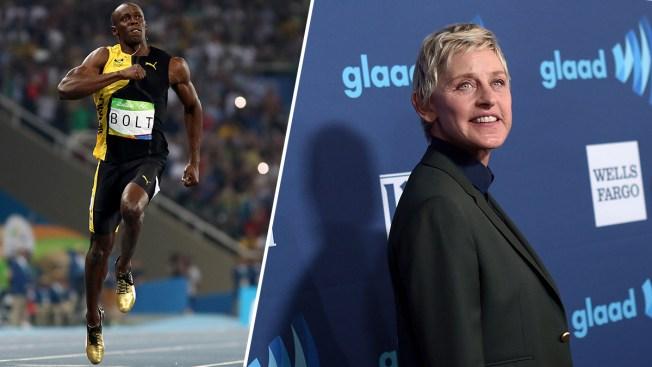 Ellen DeGeneres Under Fire for 'Racist' Usain Bolt Meme