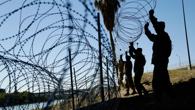 Rep. Adam Kinzinger Deployed to US-Mexico Border