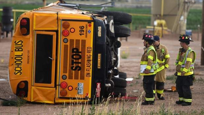 Multiple Students Injured in Colorado Bus Crash