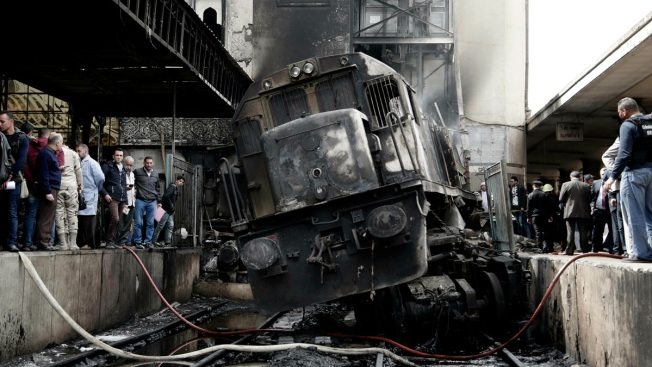 Egypt Railcar Crash, Fire at Central Cairo Station Kills 25
