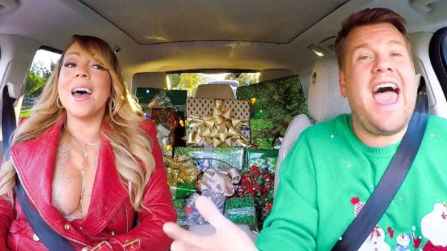 'All I Want for Christmas' is James Corden's Star-Studded Carpool Karaoke