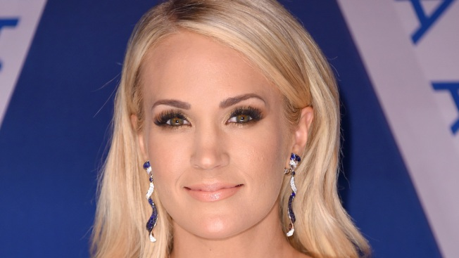Carrie Underwood had over 40 stitches in her face after fall