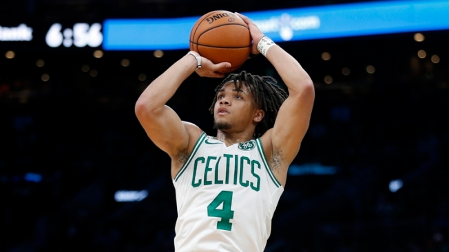 Watch Celtics Rookie Carsen Edwards Hit 8 3s in Third Quarter Vs. Cavaliers