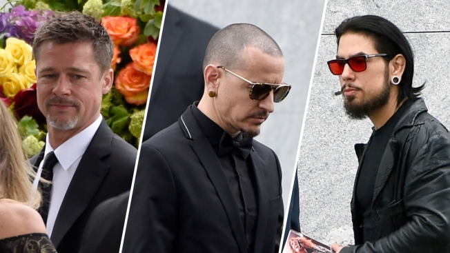 [NATL-LA]Chris Cornell Funeral: A-Listers, Rock Royalty Pay Final Respects