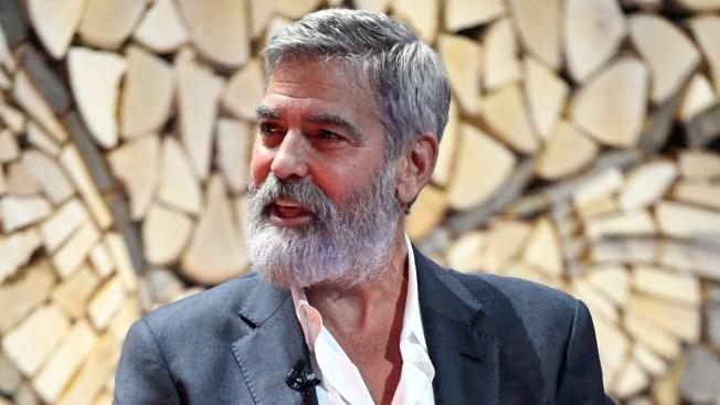 George Clooney Calls Trump's Quip on Kurds 'Pretty Shocking'