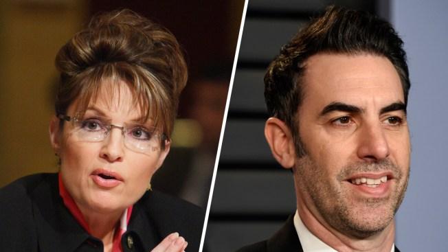 Sacha Baron Cohen, Showtime Push Back Against Sarah Palin