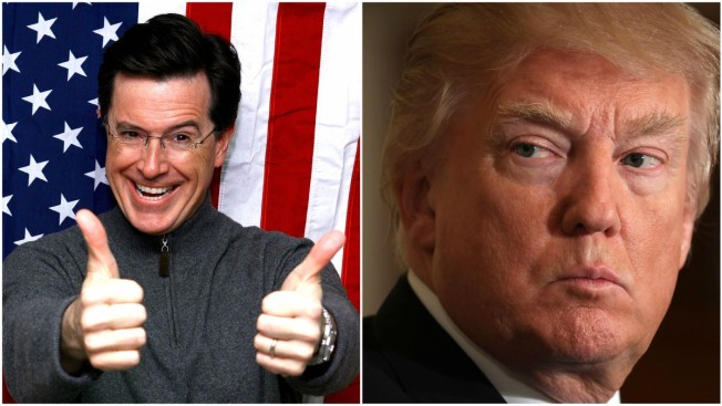 Stephen Colbert Gleefully Responds to Insults From Trump: 'I Won'