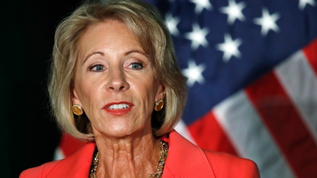 Education Sec. DeVos Gets Heat on Campus Sex Assault Plan