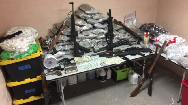 $250K worth of drugs, guns discovered after Seabrook house fire