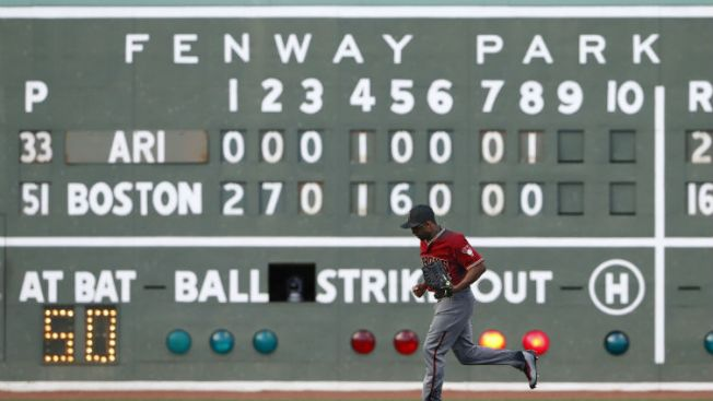 Red Sox Show Support for Bruins' Stanley Cup Run With Green Monster Message