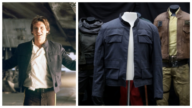 Han $olo: 'Star Wars' Jacket Expected to Fetch $1.3 million at Auction