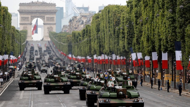 France Trumpets Shared European Defense on Bastille Day