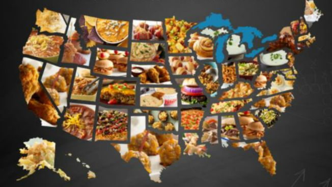 Map Shows Most Popular Super Bowl Foods by State