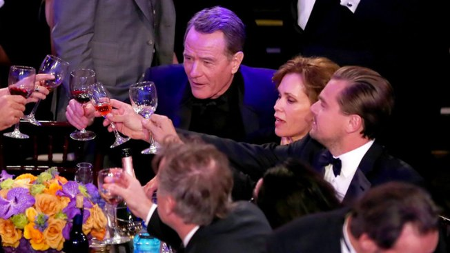 2017 Golden Globe Awards Dream Tablemates