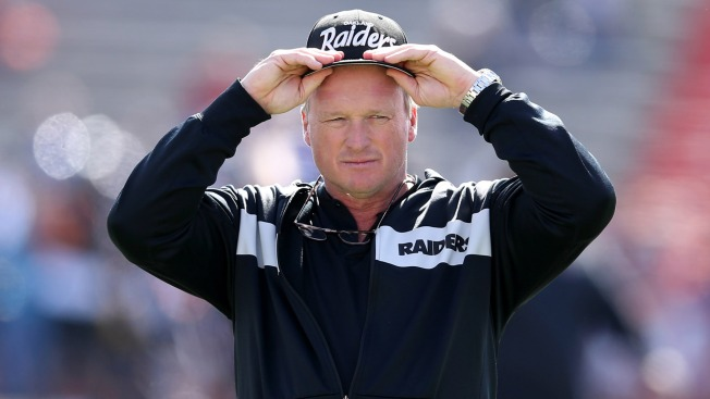 Jon Gruden on Antonio Brown Lawsuit: 'You Can Call His Employer'