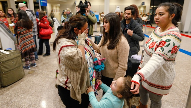 Guatemalan Woman Being Deported Spends Christmas at Airport