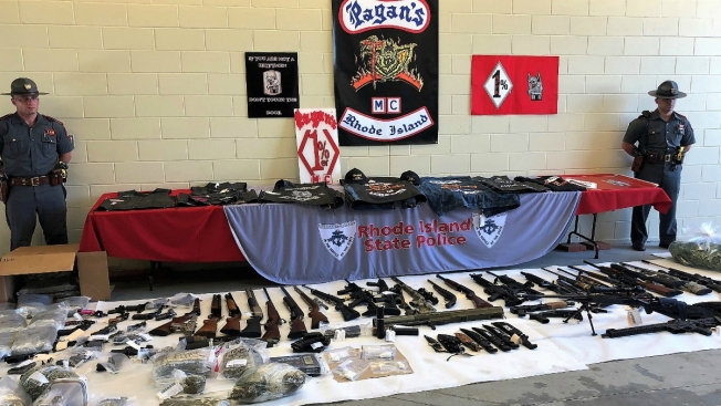 49 Arrested, 50+ Guns Seized in Massive Motorcycle Gang Bust - NBC10