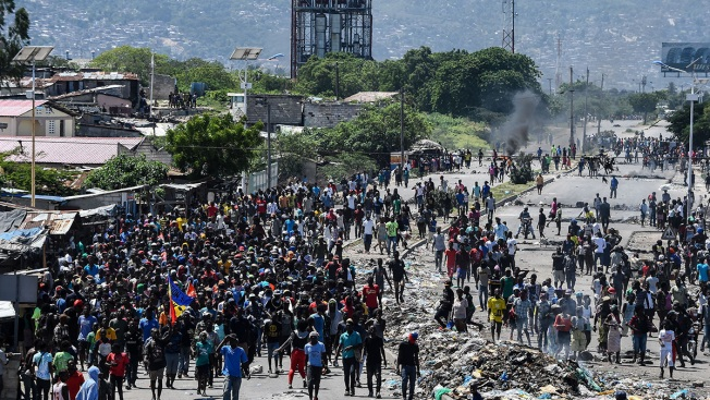 New Protests Hit Haiti Amid Demands That President Resign
