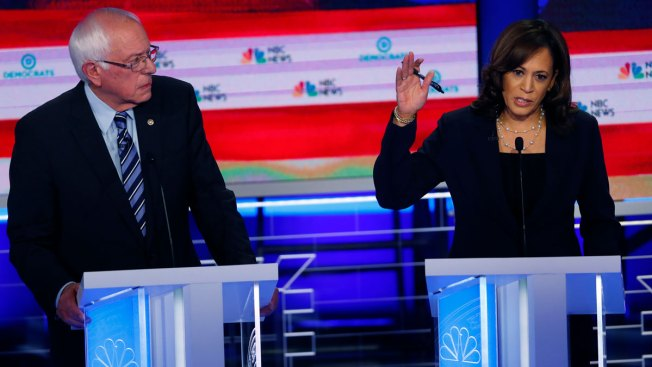 Sanders, Harris Signal Support for 'Medicare for All' and Eliminating Private Insurance