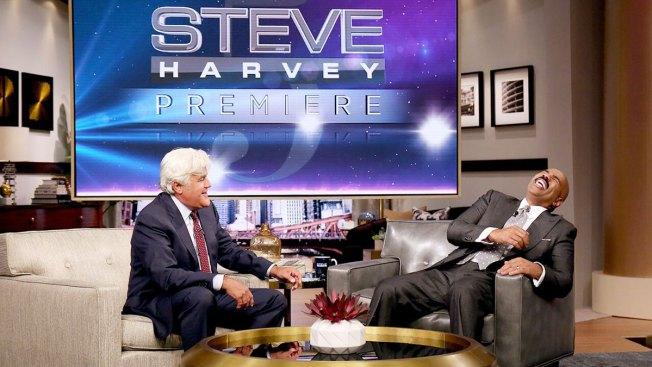 Steve Harvey Welcomes Jay Leno, LeBron James in Season 5 Premiere