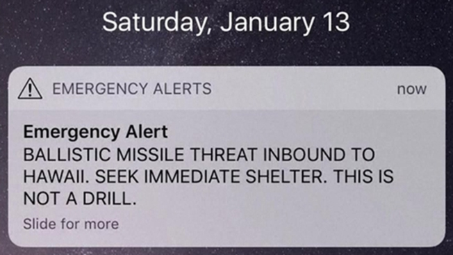 Hawaii Man Who Had Heart Attack During False Missile Alert Sues State