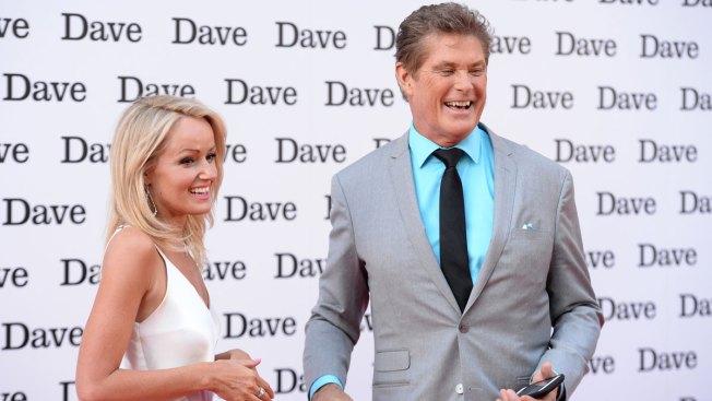 David Hasselhoff Marries Model Hayley Roberts