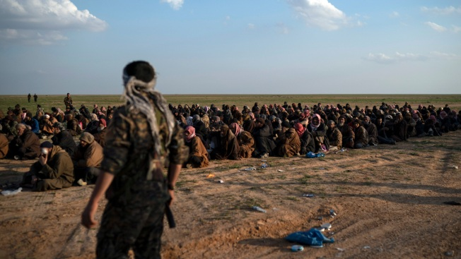 Told to Leave, ISIS 'Caliphate' Holdouts in Syria Stay Devoted