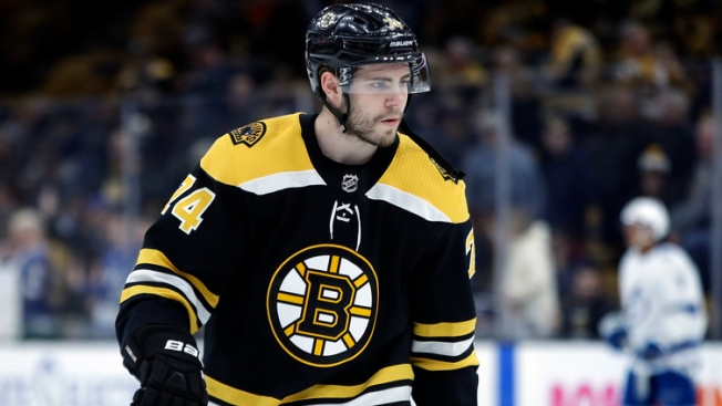 DeBrusk Not Practicing on Friday, Backes Re-enters Lineup