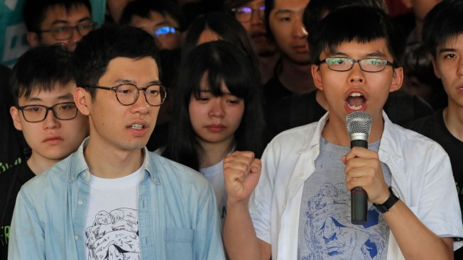 Young Leaders of Massive 2014 Hong Kong Protests Get Prison