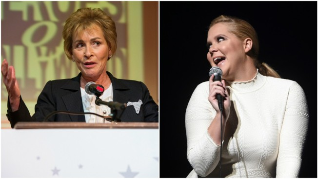 Disorder in the Court! Amy Schumer Spotted in Background of 'Judge Judy'
