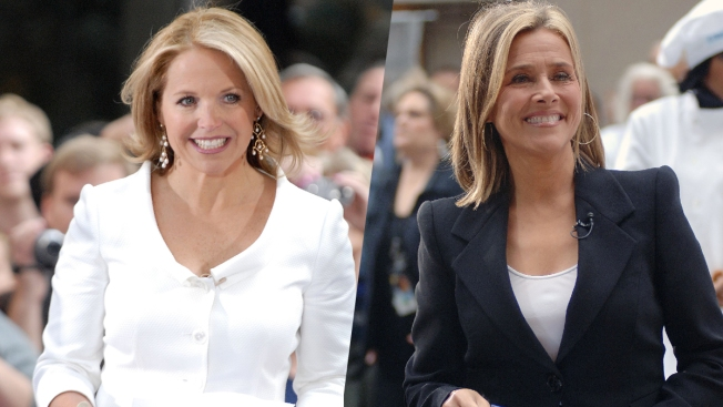 Katie Couric, Meredith Vieira to Guest-Host 'Today' in Jan.
