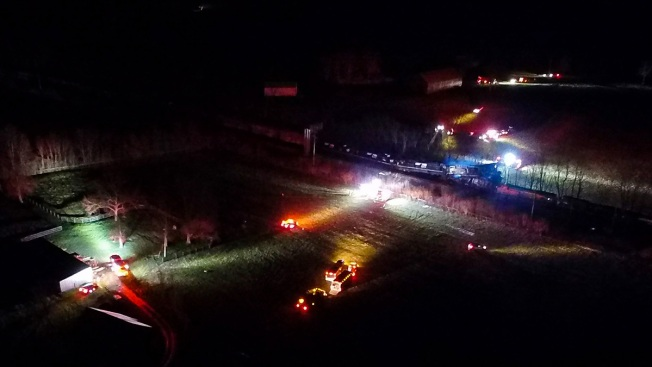 4 People Injured After 2 Trains Collide, Derail in Kentucky