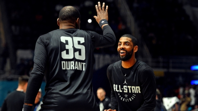 Image result for kyrie and kd