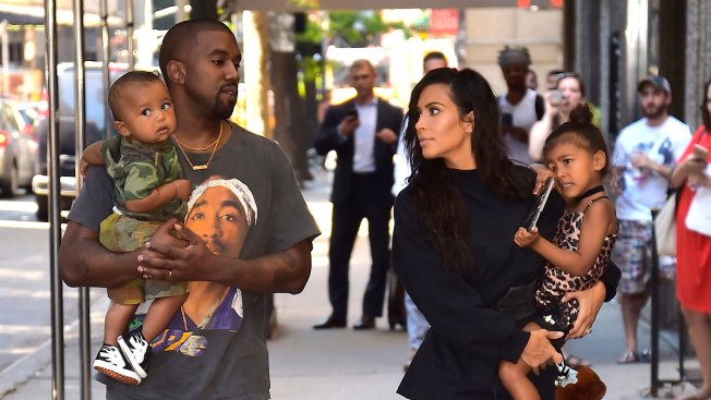 Kim Kardashian West Shares First Photo of Her Family of 5