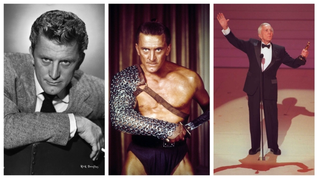 Happy Birthday Spartacus: Kirk Douglas Turns 102
