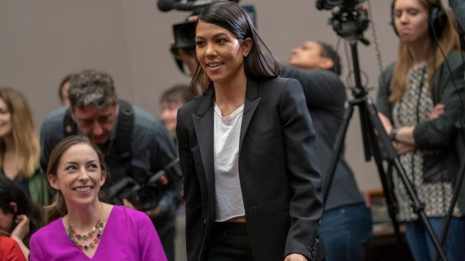 Kourtney Kardashian Meets With Congressional Leaders About Cosmetics Reform