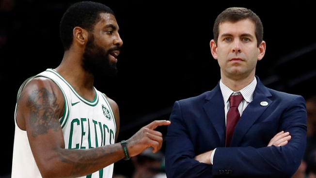 5b7fd0bc730e Kyrie Irving Details  Very Helpful  Plane Ride Chat With Brad Stevens