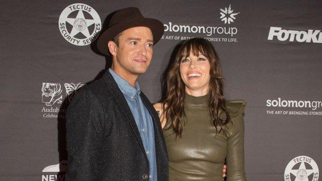 Jessica Biel Pokes Fun at Justin Timberlake's Voting Scandal