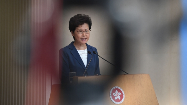 Lam Says Chinese Military Could Step in If Uprising Gets Bad