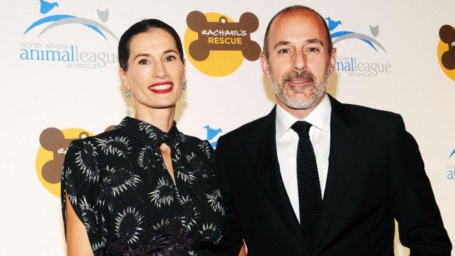 Matt Lauer's Wife Annette Roque Files for Divorce