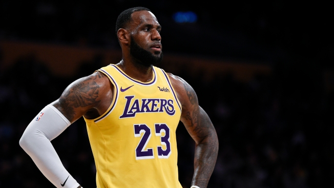 new arrival 91236 cf2f9 LeBron James Says NFL Owners Have 'Slave Mentality' - NBC10 ...