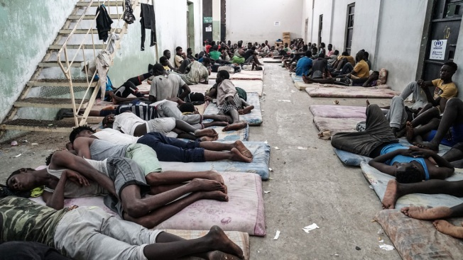 Migrants Stranded in Libya Endure Sewage, Maggots, Disease