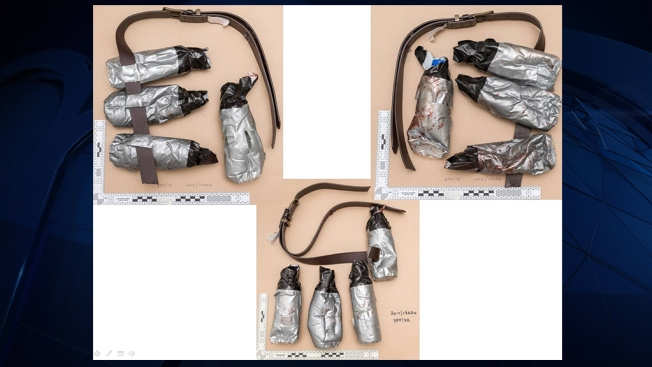 Police Release Photos of London Attackers' Fake Bomb Belts